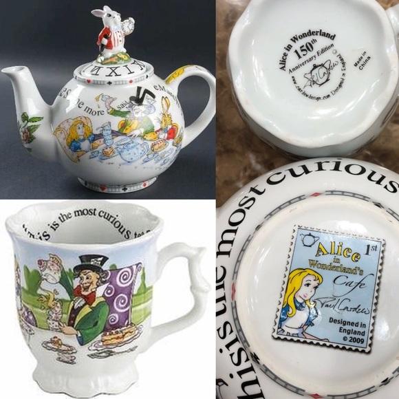 Disney Other Paul Cardew Alice In Wonderland Teapot Poshmark